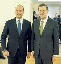 Angelino Alfano - Mariano Rajoy