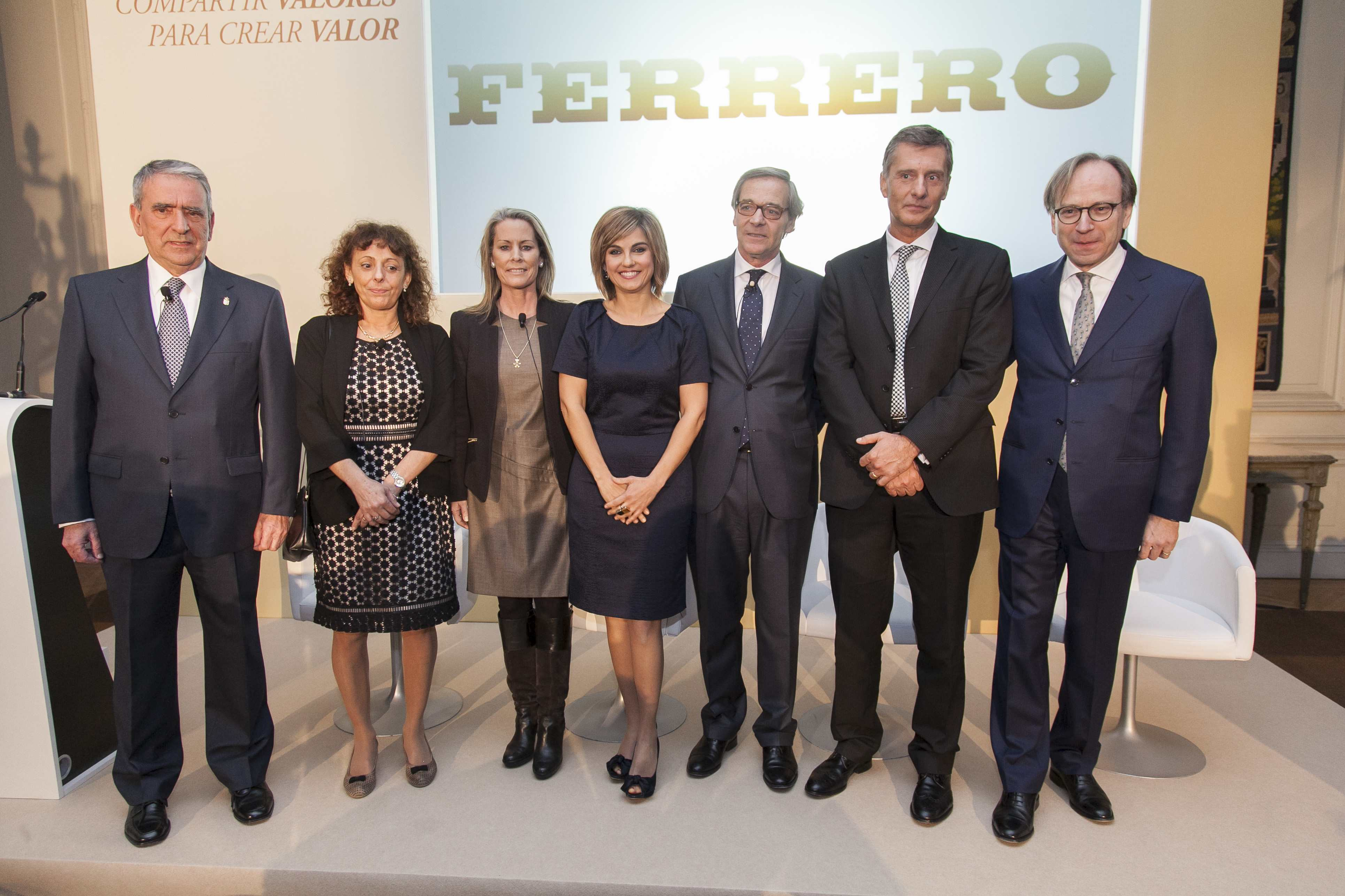 """Ferrero: """"informe annual"""" all'Ambasciata"""
