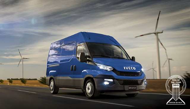 "IVECO – Il Nuovo Daily è il ""Van of the Year 2015"""