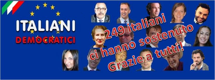 Lunedì 16 Marzo incontro con i candidati della lista ITALIANI DEMOCRATICI al Comites di Madrid