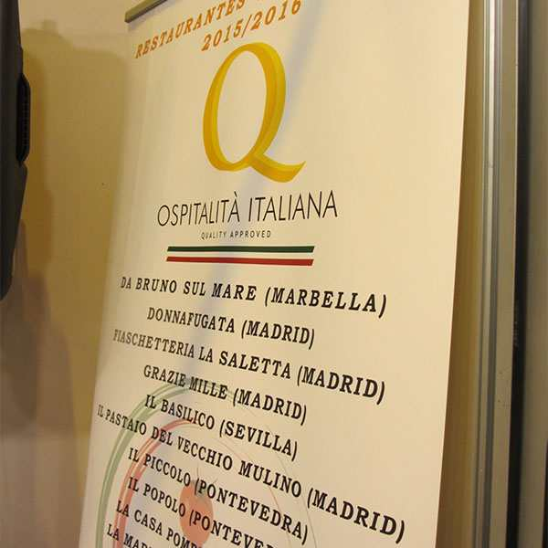 Inaugurata l'Area Italia al Salone Internazionale del Club de Gourmets 2016