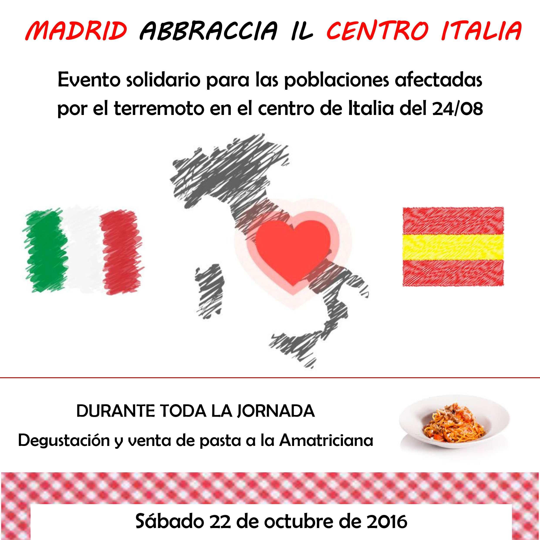 Nel cielo di Madrid le stelle brillano per il Centro Italia