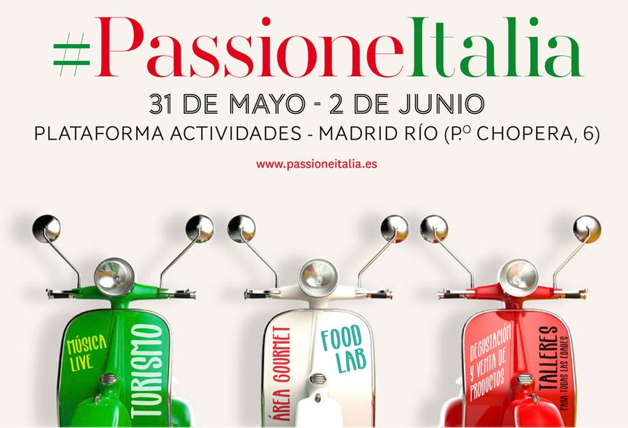 PASSIONEITALIA TORNA A MADRID