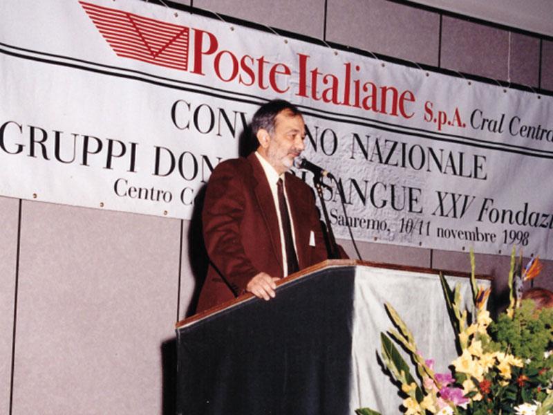 ITALIA – Roberto Palmesi e i donatori di sangue