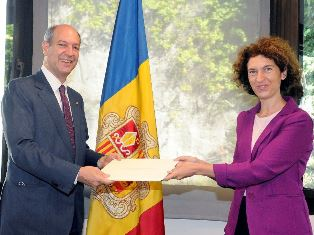 ANDORRA – L'Ambasciatore Guariglia e il Ministro Ubach