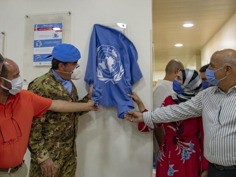 LIBANO – L'Esercito Italiano e l'ospedale