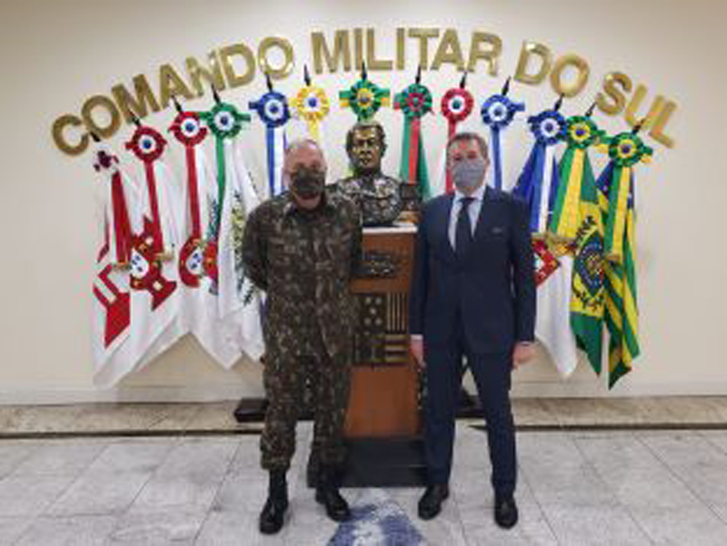 BRASILE – Il Console Generale Bortot a Porto Alegre