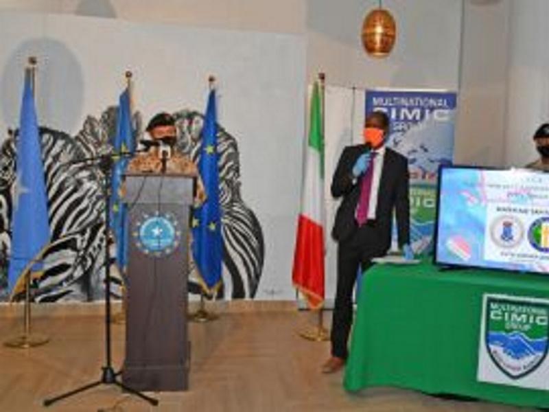 SOMALIA – Il contingente italiano con il Pasfa