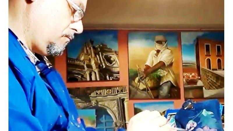Salvatore Montanucci: tutto il mondo nella sua pittura