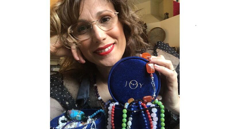 Anna Rita Pinto: con i suoi bellissimi gioielli