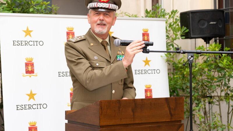 """Il Generale Serino """"dove ci sia un bersagliere là c'è l'Italia"""""""